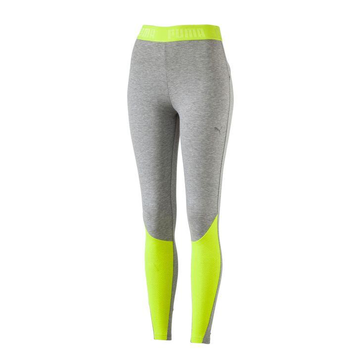 Leggings var tidigare endast till för att sporta i. Numera är de en riktig modeartikel och är här för att stanna! Denna modell från Puma har allt! Materialet polyester (88%) och elastan (12%) ..