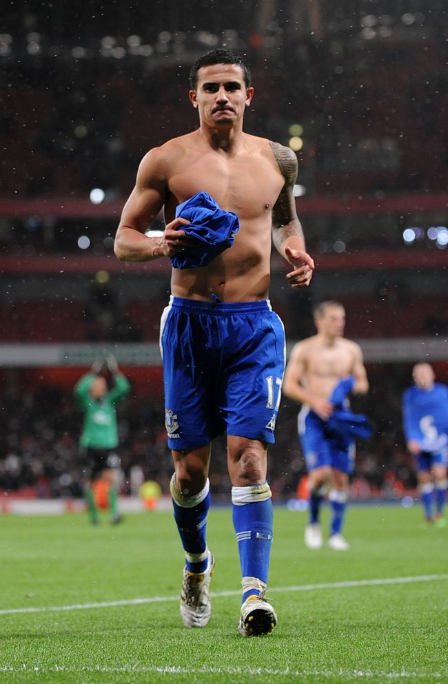 Tim Cahill - Everton