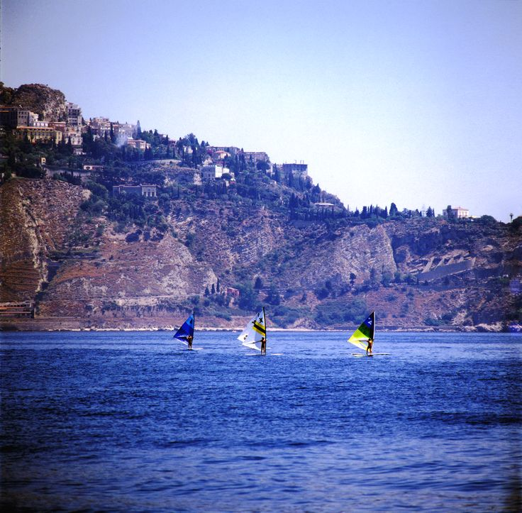 Giardini Naxos (Me) - Ph. Giangabriele Fiorentino #visitsicilyOP #sea #activetourism
