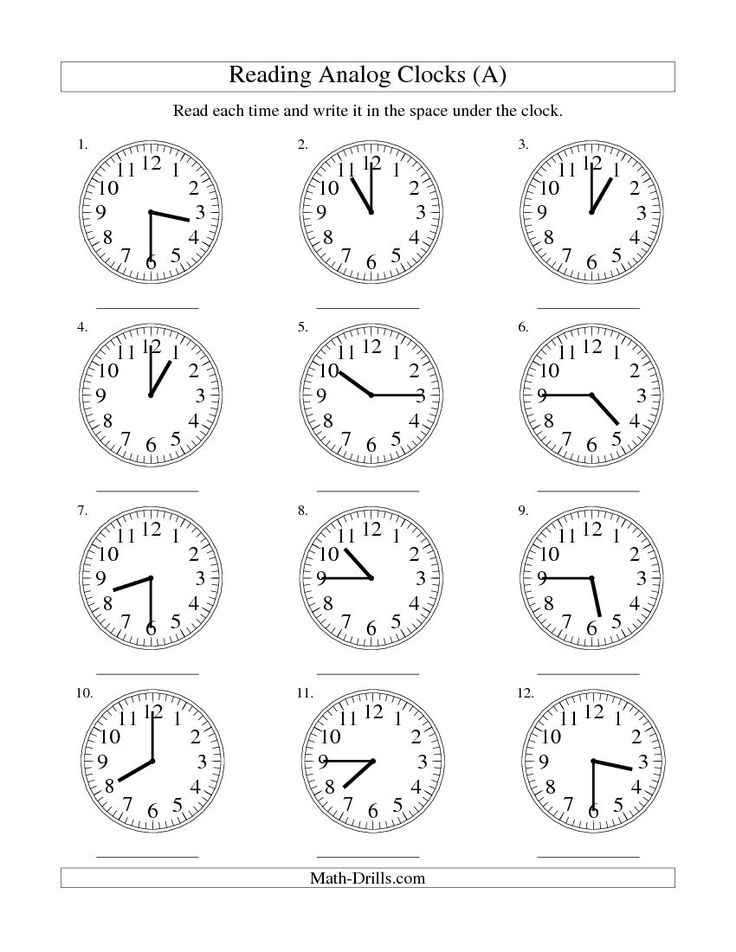 clock worksheets reading time on an analog clock in 15. Black Bedroom Furniture Sets. Home Design Ideas