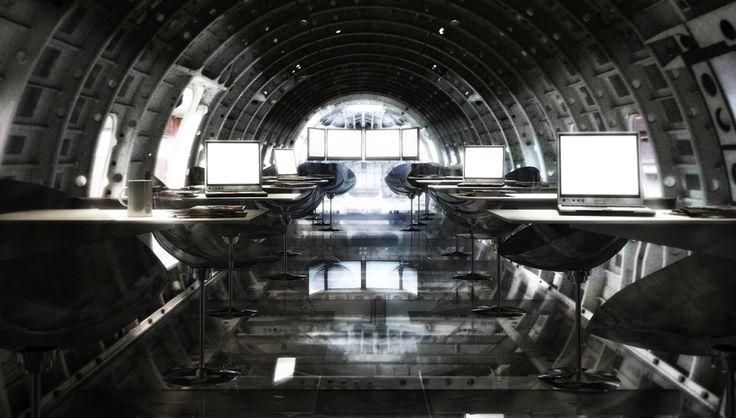 infinite area project by zanon architetti associati #workingspace #rendering