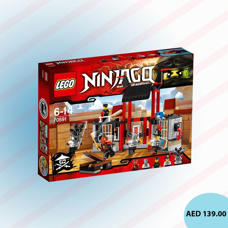 Shop for LEGO Kryptarium Prison Breakout (70591) #LEGO #Games #toys #kidstore #toystore #online #games #playsets #activitysets #kidsgames #gaming #CreativeGames #menakart