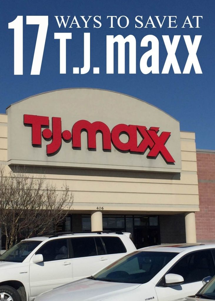 ways to save at tjmaxx