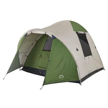 Spinifex Shoalhaven 4 Person Tent Green & Khaki