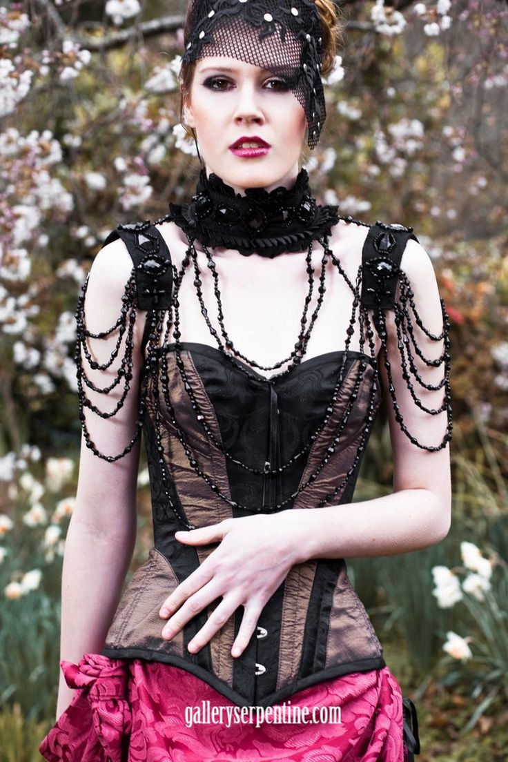 FINALLY!  Our favourite goth glamour burlesque Mata Hari accessory is back in stock....find out why it's our favourite & why we can never keep enough in stock