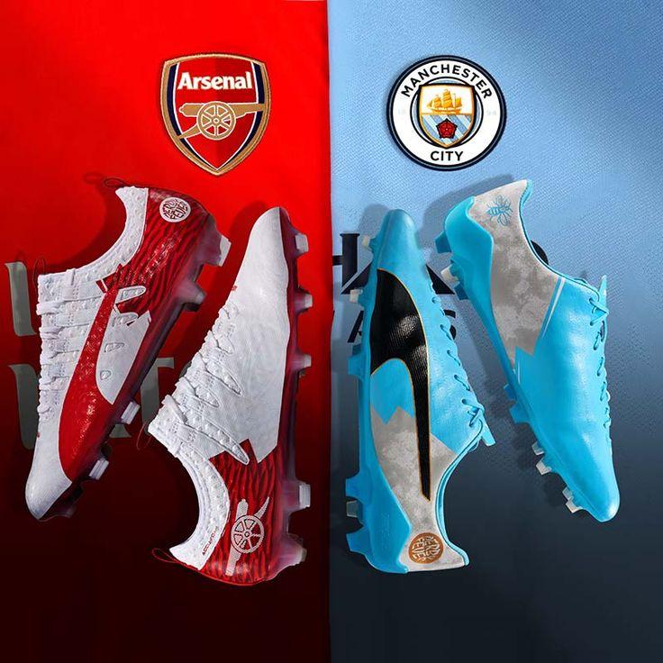 Edición limitada de botas Puma. La fotografía de las camisetas que aparecen de fondo es mia, las fotos de las botas son de Puma.