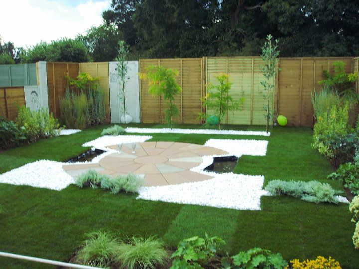 show garden at Sandringham flower show
