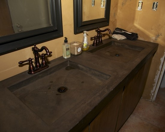 Concrete Bathroom Ideas: 1000+ Images About Concrete Vanities, Showers & Tubs On