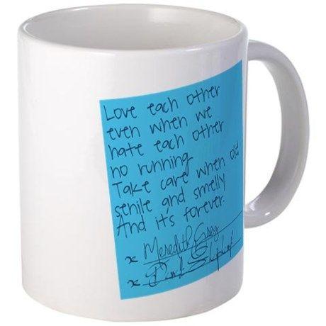 Greys Anatomy: Post It Mug on CafePress.com
