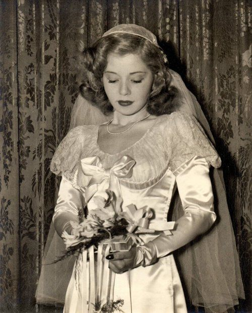 Bridal photograph from 1951