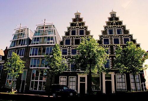 Gevels Haarlem Netherlands