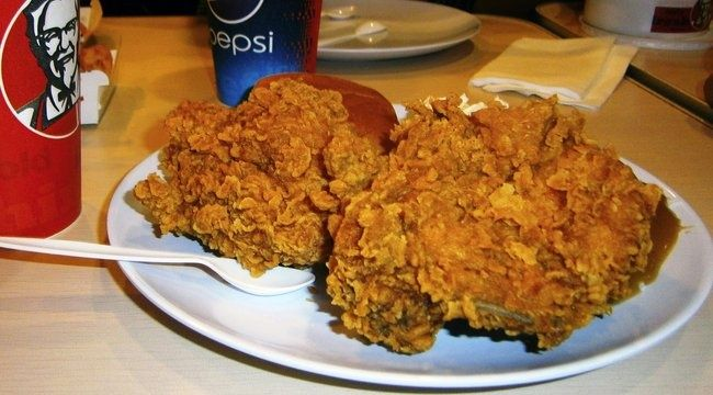 KFC csirke