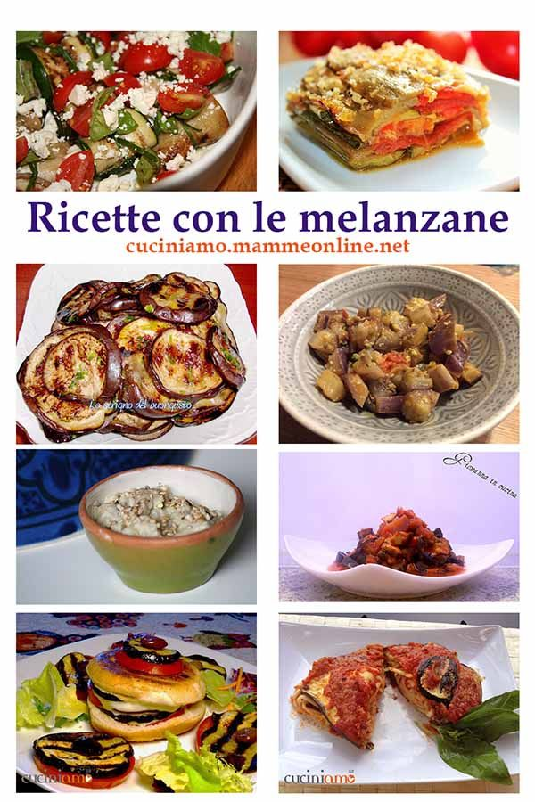 Ricette con le #melanzane. Una Se anche tu ami le melanzane come me, non perdere la raccolta di facili e gustosissime ricette per affrontare l'estate in compagnia della melanzana in cucina http://cuciniamo.mammeonline.net/ricette-le-melanzane-raccolta/