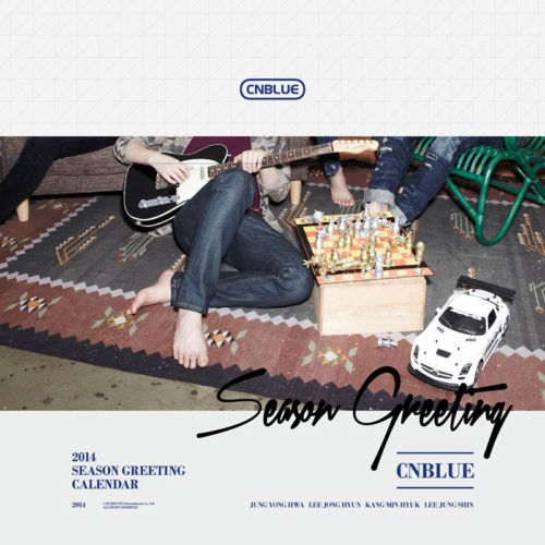 [2014 K-POP Season Greeting] CN Blue Idol Memorable (Table Calendar+Sticker)