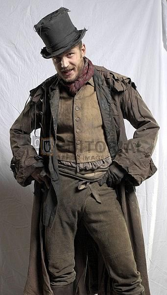 Tom Hardy as Bill Sikes in Oliver Twist.