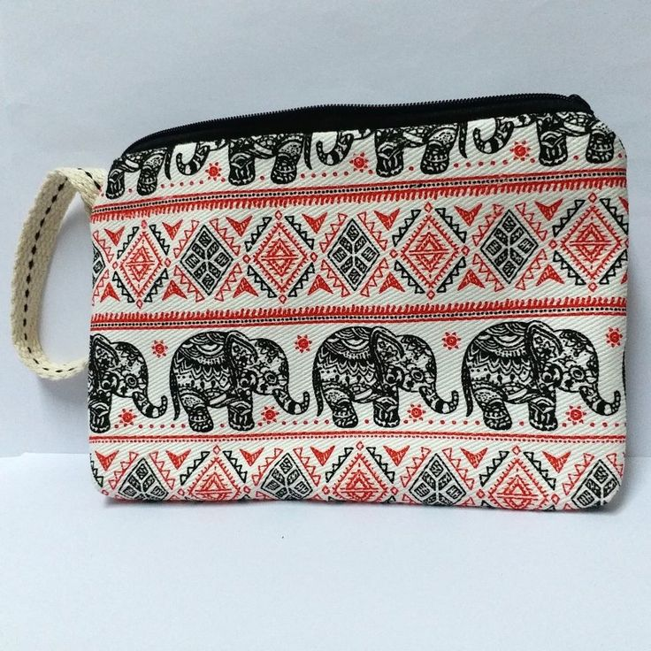 THAI ELEPHANT COIN BAG PURSE WALLET CARD HANDMADE FABRIC GIFT SOUVENIR COLLECT #Unbranded #WalletandCoinPurse