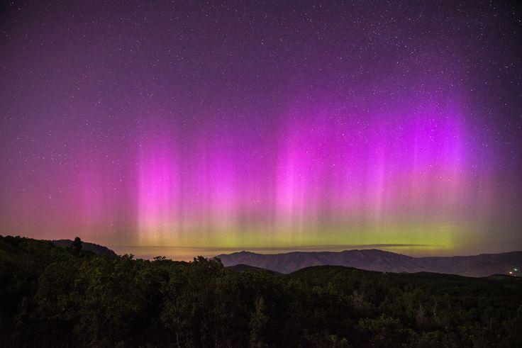 Rare Utah aurora borealis caught on camera   KSL.com