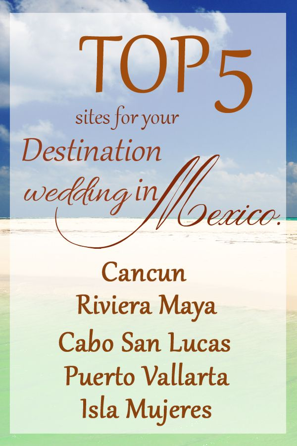 Mexico wedding ceremony. TOP 5 places where to organise it. Destination weddings, destination wedding Mexico, Cancun weddings, Cabo San Lucas weddings, Puerta Vallarta wedding, Riviera Maya weddings http://elena-fedorova.com/where-to-organize-mexico-destination-wedding-top-5-sites/