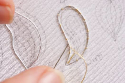 How to make stumpwork shapes