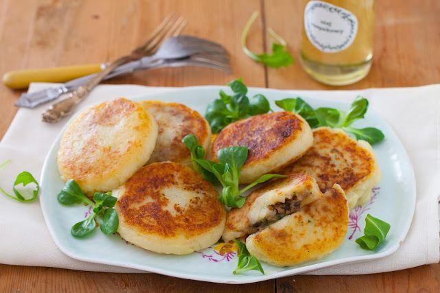 Mój zbiór przepisów kulinarnych-  wyszukane w sieci: Kotlety ziemniaczane z pieczarkami