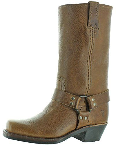 FRYE Women's Harness 12R Boot, Caramel, Cowgirl boots look so good on cowgirls, these boots are so beautiful and stylish, these rugged boots make a lady look sexy. frye cowboy boots for women,  frye engineer boots women,  frye western boots women,  frye leather boots women,  frye riding boots women,  frye cowboy boots women,  frye harness boots women,  fur boots for women,  trendy womens boots,