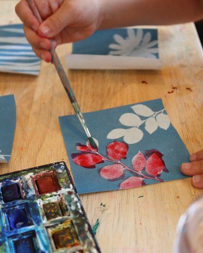 Sun printsLong Thread, Ideas Painting Sun, For Kids, Kid Art, Painted Sun Prints4, Sunprint Dierction, Kids Crafts, Kids Art, Art Ideas Painting