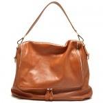 Burnt Tan Claire Leather Shoulder Handbag $269.95 FREE SHIPPING WITHIN AUSTRALIA available online at sterlingandhyde.com.au
