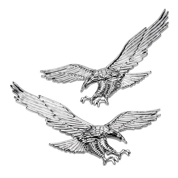 Купить товарВысокое качество 1 пара 3D ABS Орел Наклейки Персонализированные Автомобиль Модификации Тела Флаг Наклейки Стайлинга Автомобилей в категории Наклейкина AliExpress.  описание:материал категория: ABS stickстикер/автомобиль-логотип моделирование: животныевидов животных: fly eagleу