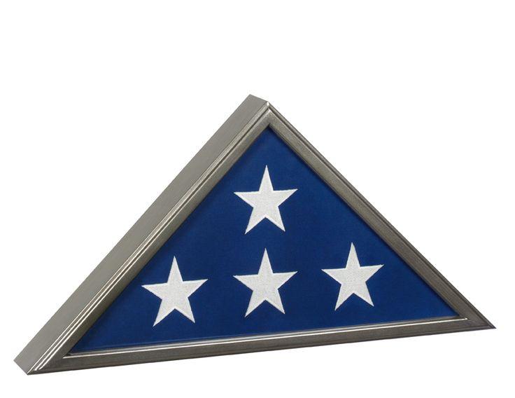 Best Seller Flag Display Case American Made, Burial Flag Display Flag