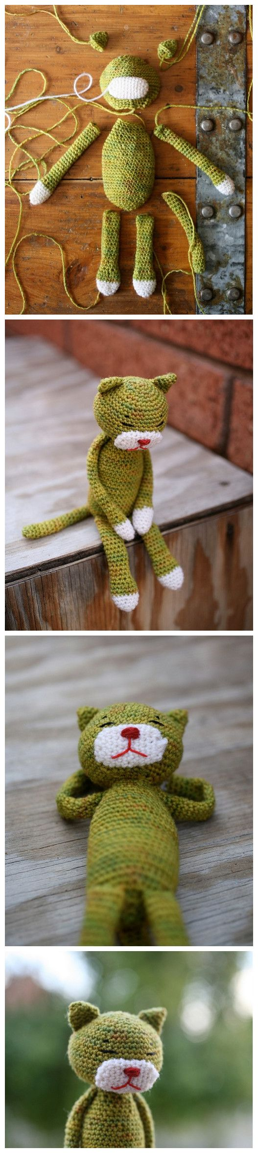 Crocheted Cat! [no pattern]