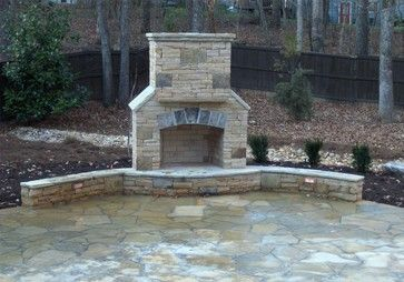 Outside Fireplaces Design Ideas, Pictures, Remodel, and Decor - page 13