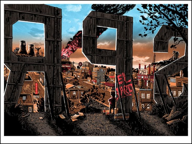 Unreal_Estate_The_Simpsons_Springfield_Illustrated_As_A_Deadbeat_Town_by_Tim_Doyle_2014_01