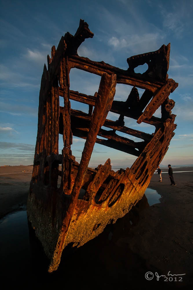 The Wreck of the Peter Iredale, Astoria OR Beautiful