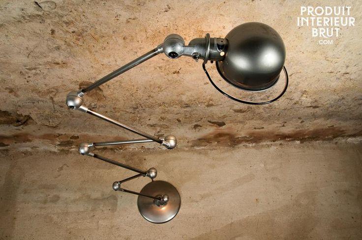 Piantana Jieldé Loft. Illuminate i vostri interni con questa lampada metallica, icona del design industriale.