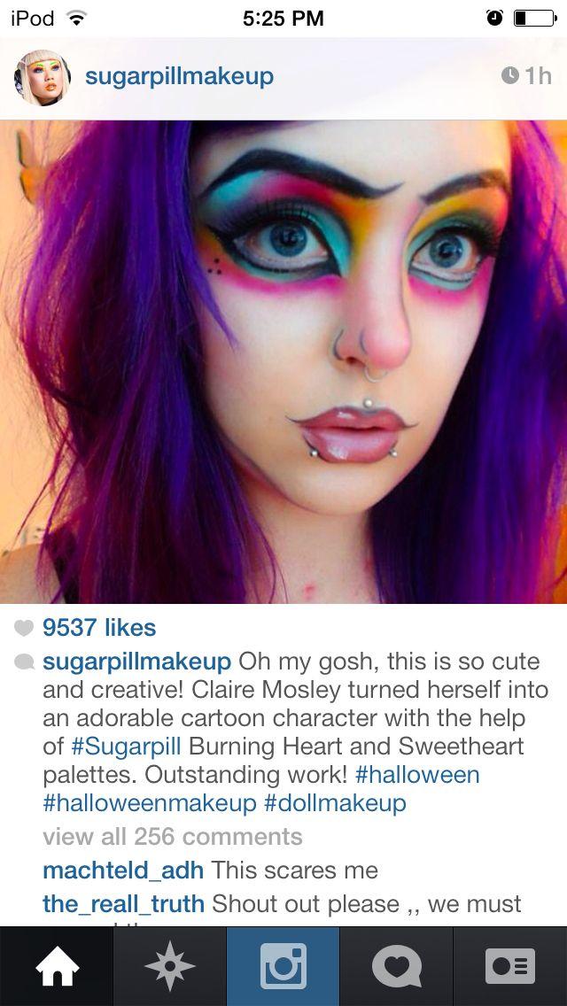 Cartoon Makeup: 17 Best Ideas About Cartoon Makeup On Pinterest