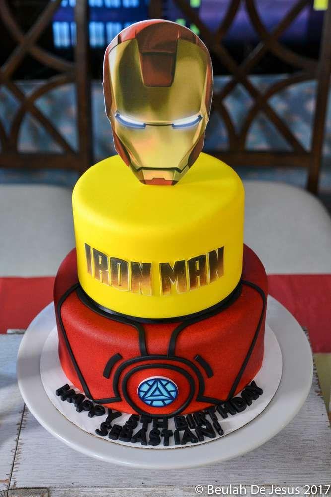Iron Man Marvel Superheroes Birthday Party Ideas Iron Man Party