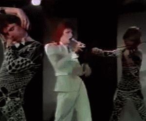 "vezzipuss.tumblr.com — David Bowie, ""Sorrow"", 1980 Floor Show, Circa 73 ..."