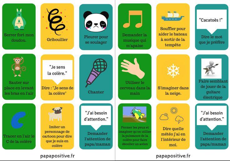 27 ressources sous forme de cartes pour exprimer la colère sans violence