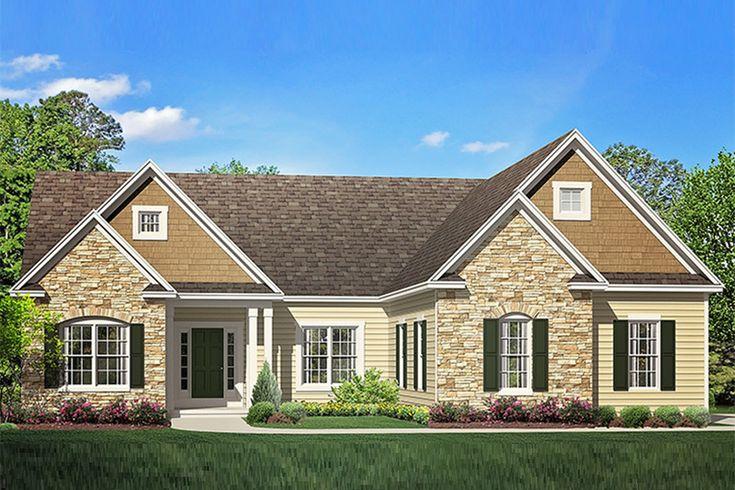Best 25 rambler house ideas on pinterest rambler house for Rambler house vs ranch house