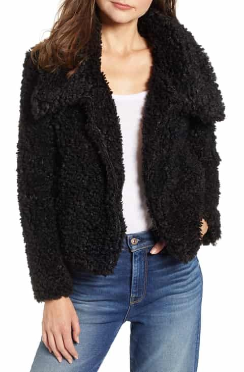 f2f0860011e Bishop + Young Faux Fur Crop Jacket Top Reviews in 2019