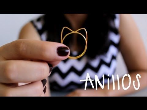 ▶ Cómo hacer anillos con alambre fácil - Hablobajito - YouTube