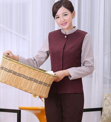 hotel cleaner uniform for women hotel sevice uniform cleaner clothes hotel staff uniform food service uniform #Affiliate