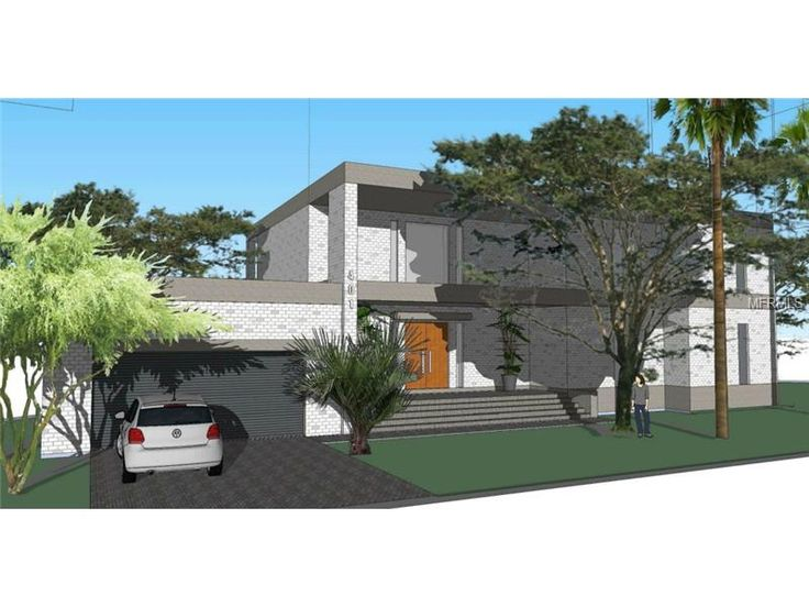 Modern New construction South Tampa home for sale