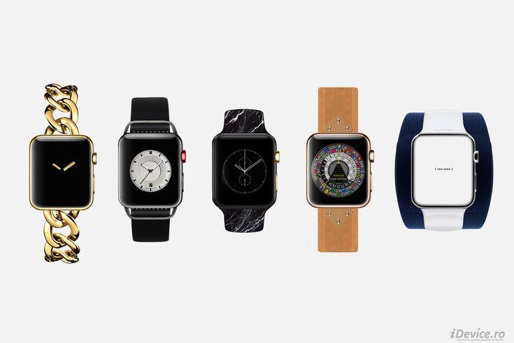 Apple Watch – asa ar fi aratat produsul Apple daca ar fi fost conceput de catre marii designeri de moda