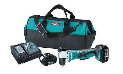 18-Volt LXT Lithium-Ion 3/8 in. Cordless Right Angle Drill Kit Power Tool + Bag