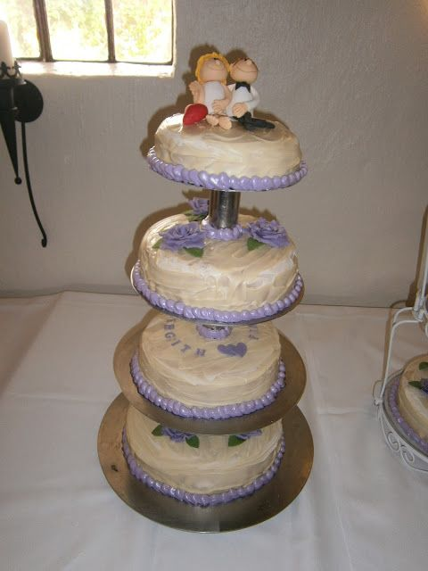 Madmekka - My first wedding cake
