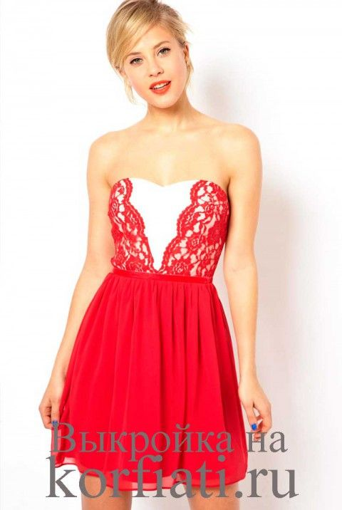 Chiffon and lace - sew elegant sleeveless dress  Author: Anastasia Korfiati #sewing #patternmaking