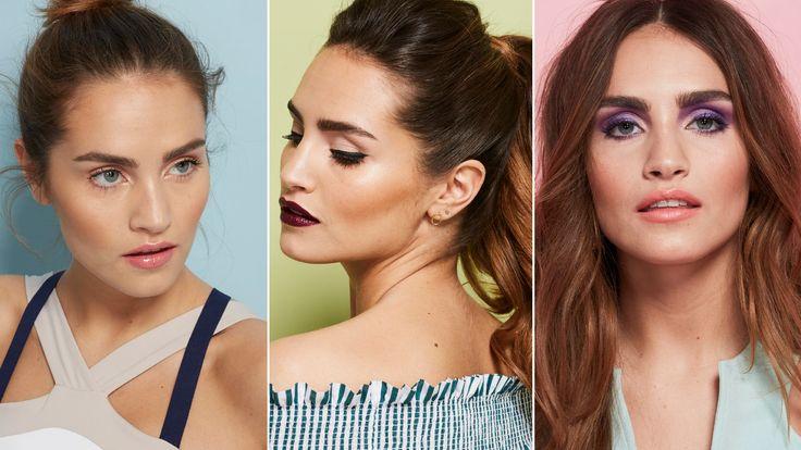3 make-uplooks voor elke versie van jezelf: voor de fitness, je werk en een feestje