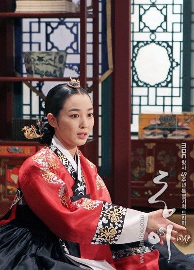 Dong Yi (Hangul: 동이; hanja: 同伊) is a 2010 South Korean historical television drama series, starring Han Hyo-joo, Ji Jin-hee, Lee So-yeon and Bae Soo-bin. About the love story between King Sukjong and Choi Suk-bin, it aired on MBC from 22 March to 12 October 2010 on Mondays and Tuesdays at 21:55 for 60 episodes.