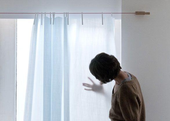 Le 20 migliori idee su bastone per tende su pinterest - Aste per tende ikea ...